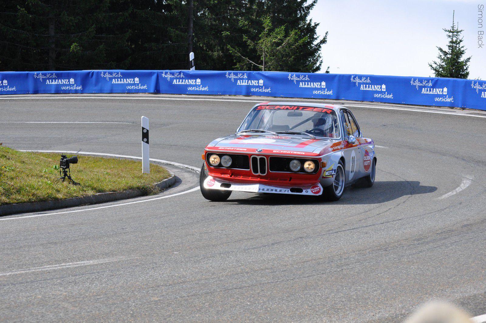 Auto und Sportwagen - Rossfeldrennen BMW Schnitzer - Simon Back Fotografie