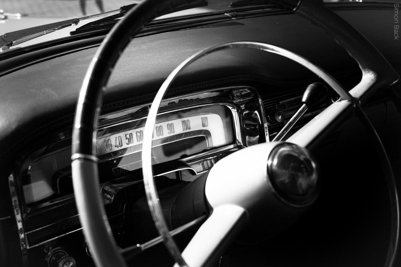 Cadillac Coupe DeVille - Das Lenkrad