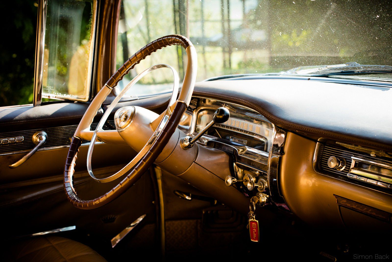 Cadillac Coupe DeVille - Details im Innenraum